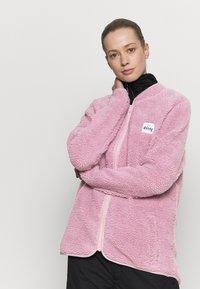 Eivy - REDWOOD SHERPA JACKET - Fleece jacket - dusty pink - 3