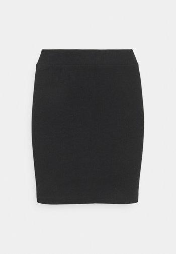 DORA  - Mini skirt - black
