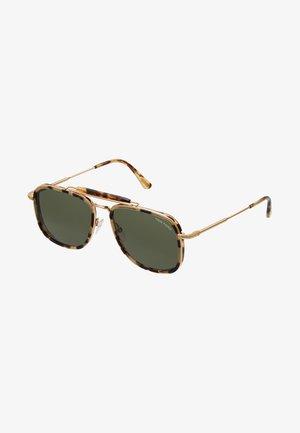 Sunglasses - tort/green