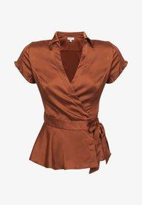 Guess - Button-down blouse - braun - 3