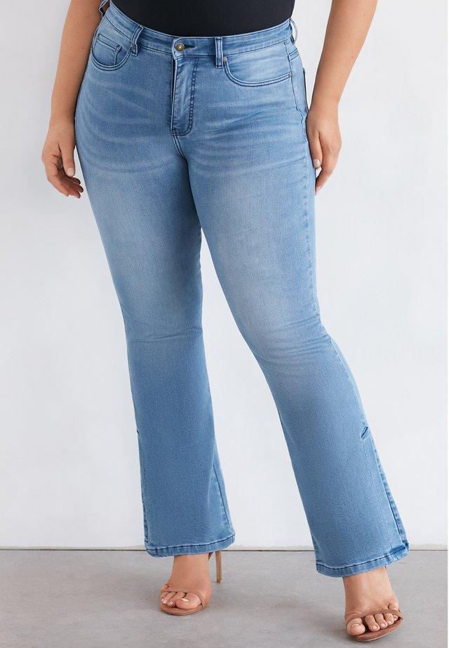Flared Jeans - heaven blue