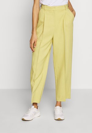 TAB WAIST TROUSERS - Pantalones - lime