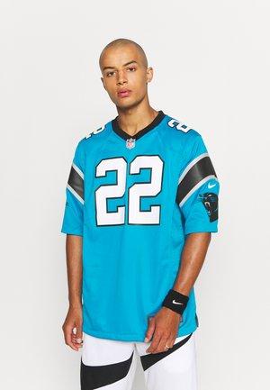 NFL CAROLINA PANTHERS CHRISTIAN MCCAFFREY GAME ALTERNATE - Club wear - tidal blue