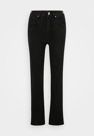 STRAIGHT - Jeans Straight Leg - midnight black