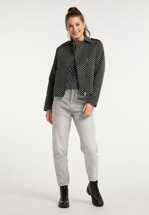 Summer jacket - schwarz weiß