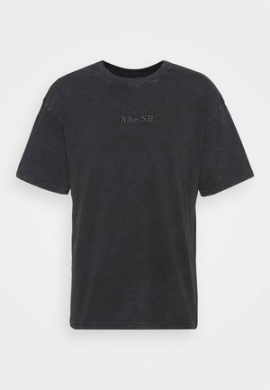 TEE CLASSIC WASH UNISEX - T-shirt z nadrukiem - anthracite