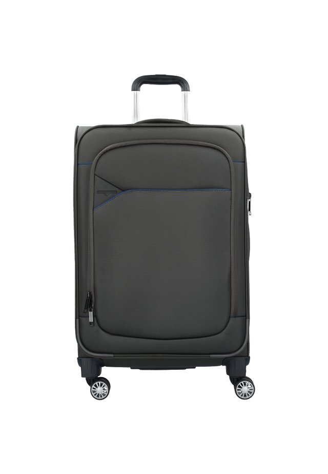 SKYLINE - Wheeled suitcase - ivy dark blue