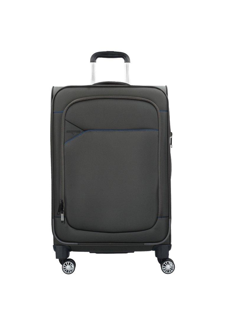 Hardware - SKYLINE - Wheeled suitcase - ivy dark blue