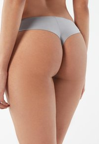 Intimissimi - BRASIL - Thong - blu st.bear/deep bordeaux - 1