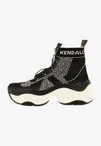 KENDALL + KYLIE - WILLAMINA - Sneakers hoog - black-white - 0