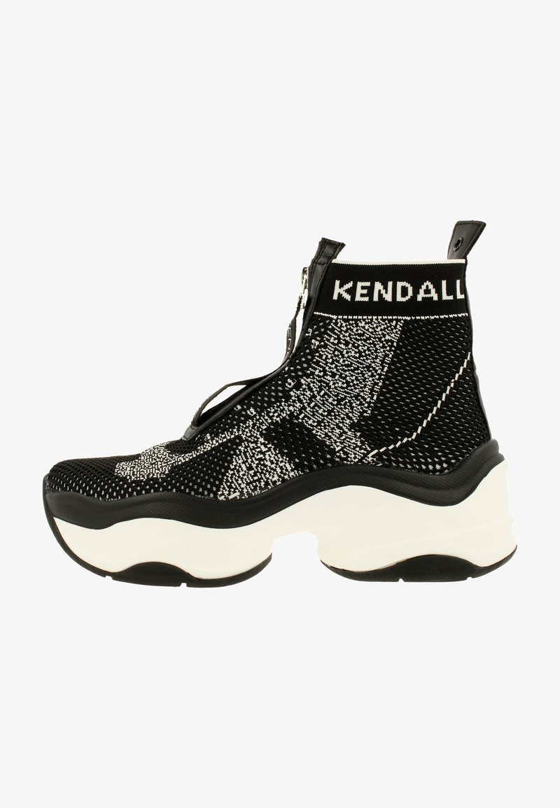 KENDALL + KYLIE - WILLAMINA - Sneakers hoog - black-white