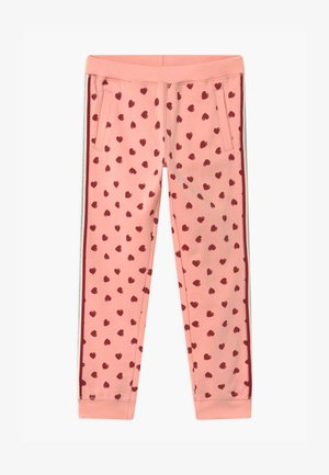 SMALL GIRLS - Tracksuit bottoms - coral cloud