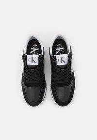 Calvin Klein Jeans - WEDGE LACEUP - Sneaker low - black - 5