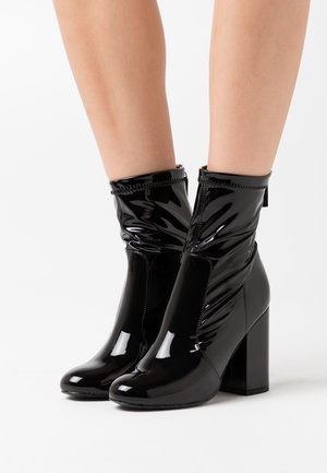COSY - High heeled ankle boots - black