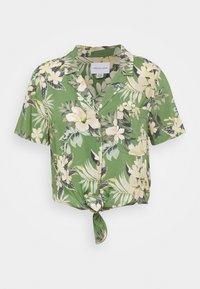 CORE TROPICAL - Button-down blouse - green