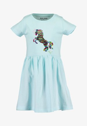 SMALL GIRLS UNICORN  - Jersey dress - aqua