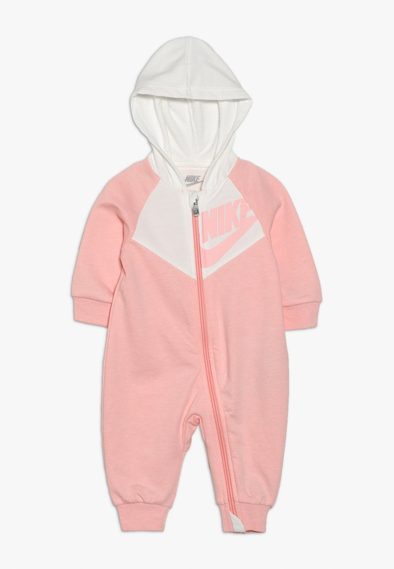 Nike Sportswear - CHEVRON COVERALL BABY - Overall / Jumpsuit - bleached coral heather