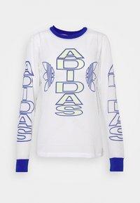 adidas Originals - VARSITY - Camiseta de manga larga - white - 4
