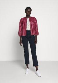 MAX&Co. - DEPONGO - Leather jacket - capnella rose - 1