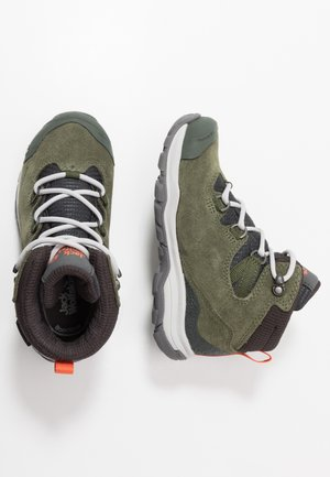MTN ATTACK 3 TEXAPORE MID - Hiking shoes - khaki/phantom