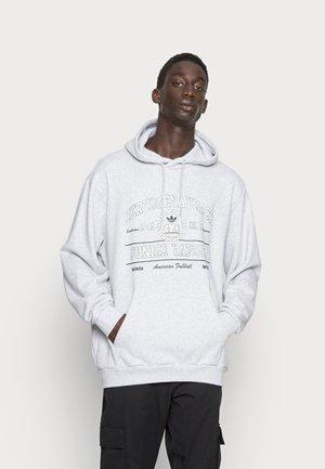 COLLEGE HOODY - Sportinis megztinis - light grey heather