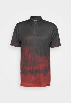 SUNSET - Poloshirts - smoke poppy red