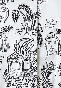 Monki - Shirt dress - white light - 5