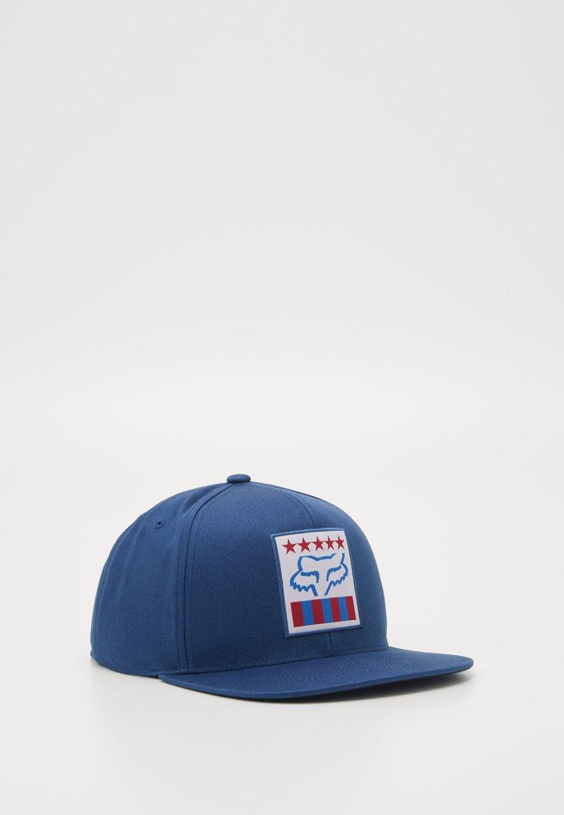 Fox Racing - FREEDOM SHIELD SNAPBACK HAT  - Cap - blu