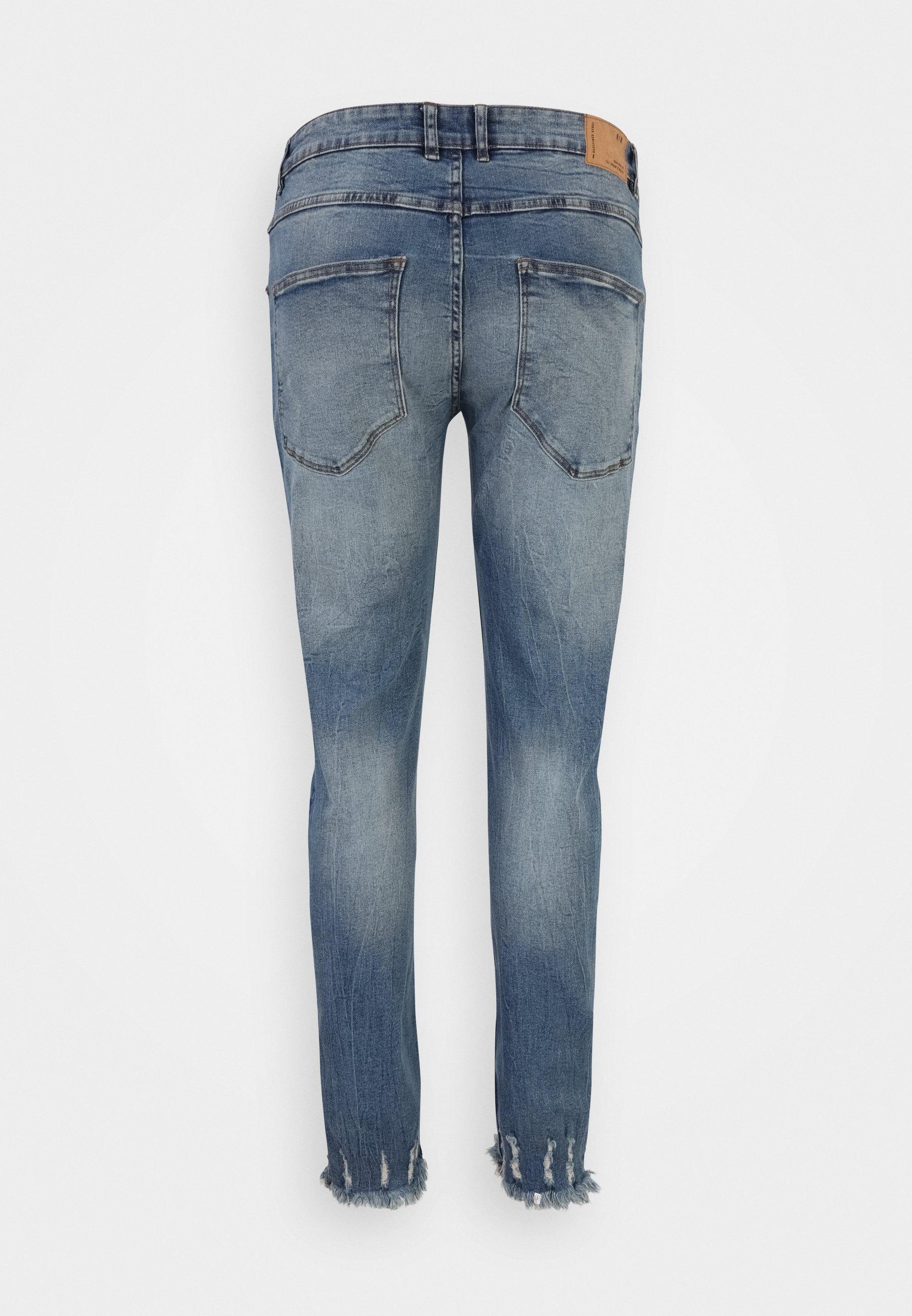 Uomo RRSTOCKHOLM DESTROY PLUS - Jeans slim fit