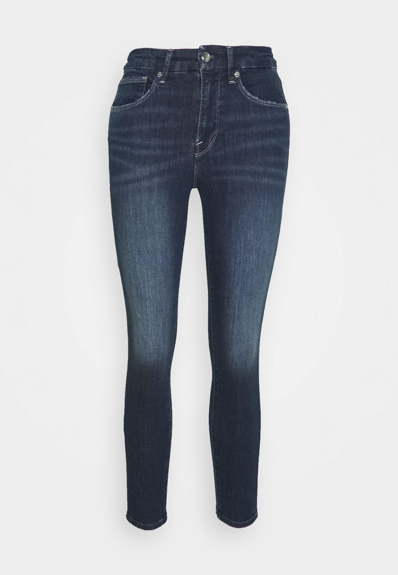 Good American GOOD LEGS CROP - Jeans Skinny Fit - blue/blue denim 0PAD1U