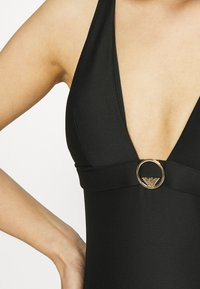 Emporio Armani - SWIMSUIT - Swimsuit - black - 5