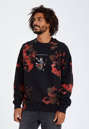 PENTAGRAM PIZZA CREW - Sweatshirt - black