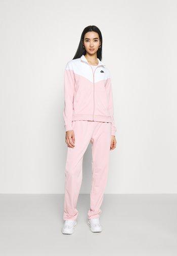 TRACK SUIT SET - Sweatjakke - pink glaze/white
