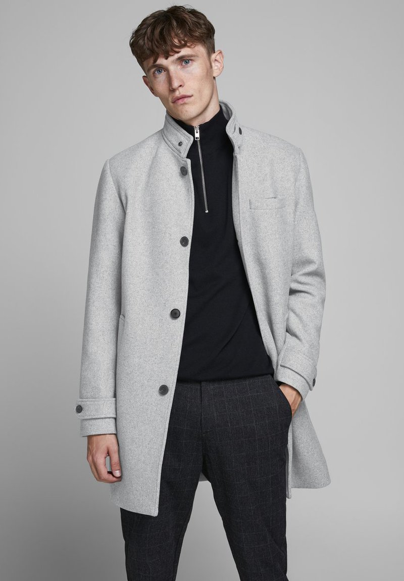 Jack & Jones PREMIUM - Klassinen takki - light grey melange