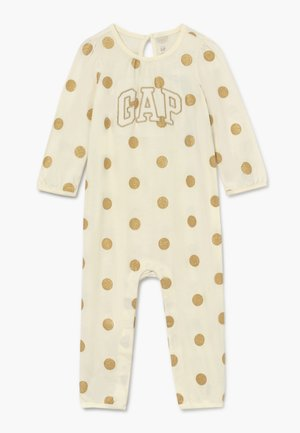 DOT BABY - Sleep suit - ivory frost