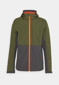 Icepeak - BASSUM - Soft shell jacket - dark olive - 0