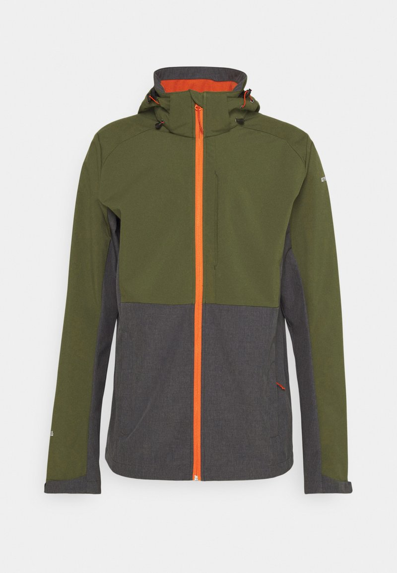 Icepeak - BASSUM - Soft shell jacket - dark olive