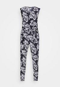 comma - OVERALL - Jumpsuit - dark blue/white - 4
