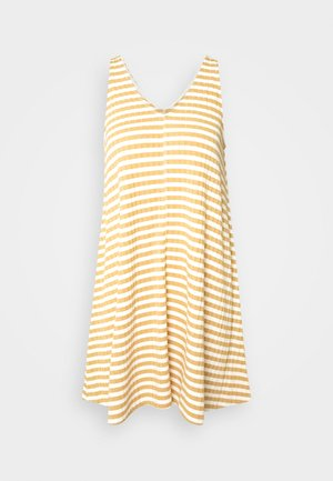 EASY SIWING DRESS - Jerseykjole - yellow