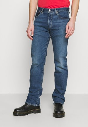 501® LEVI'S® ORIGINAL FIT UNISEX - Džíny Straight Fit - med indigo