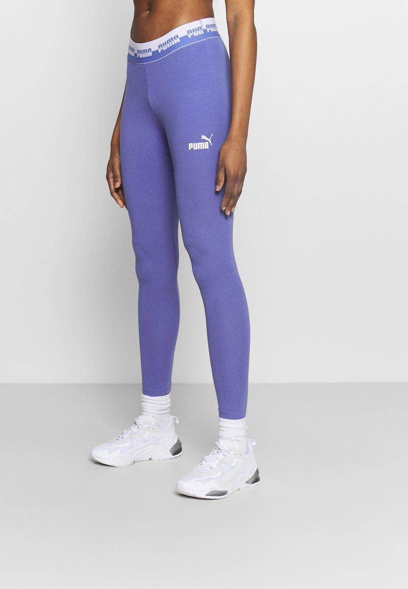 Puma - AMPLIFIED LEGGINGS - Leggings - hazy blue