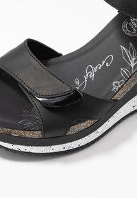 Panama Jack - NICA SPORT - Platform sandals - schwarz - 2