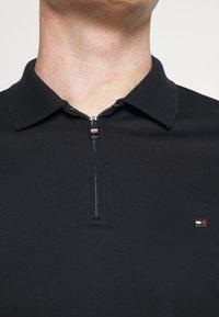 Tommy Hilfiger - INTERLOCK ZIP SLIM  - Polo shirt - desert sky - 3
