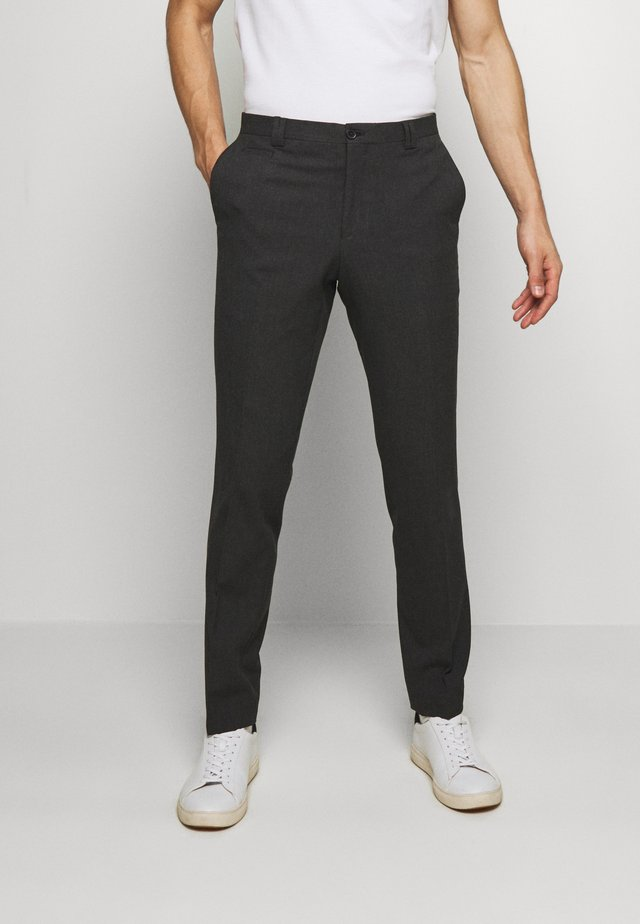 VESTFOLD TROUSER - Stoffhose - charcoal
