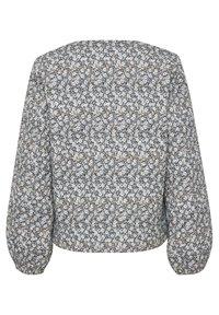 Kaffe - Light jacket - blue / beige flower - 5