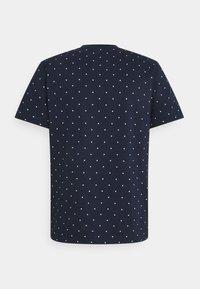 Lacoste - Print T-shirt - navy blue - 1