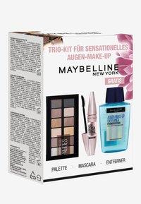 Maybelline New York - BESTSELLER GIFT SET - Makeup set - very black/the nudes/transparent - 1