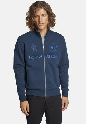 QUILT - Sweater met rits - dark blue