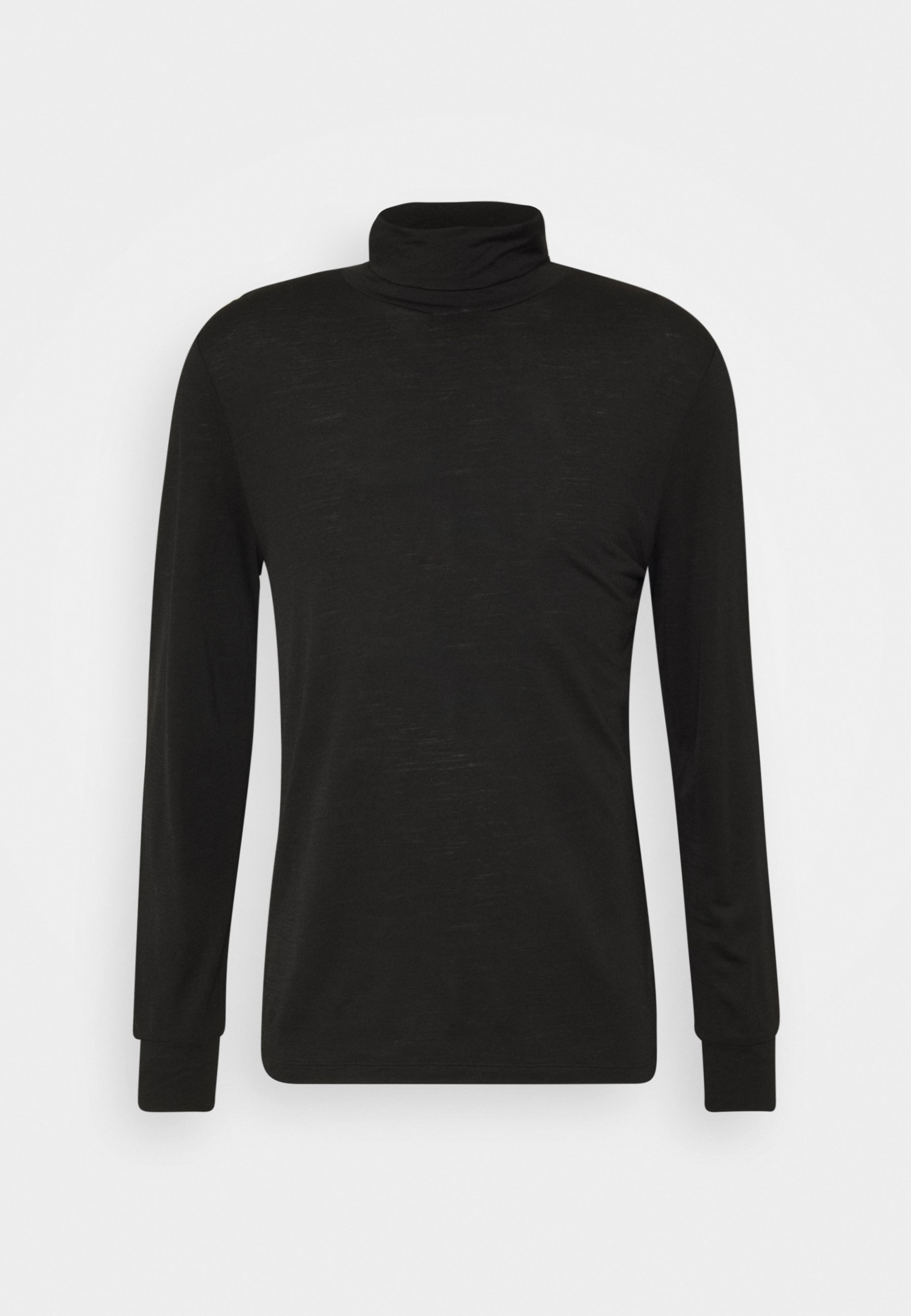 BAKER TURTLENECK Langærmede T shirts black