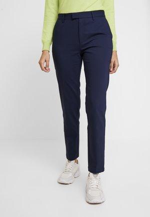 KEELY - Spodnie materiałowe - shadow blue